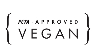 Sello certificado PETA approved para ropa vegana